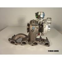 724930-5009S TURBINA REVISIONATA COMPLETA  FOR VW - JETTA III (1K2) - 2.0 TDI