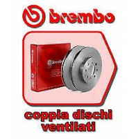 COPPIA DISCHI FRENO BREMBO POST FOR FORD FIESTA V-VI-FOCUS MM252,5