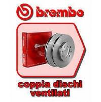 COPPIA DISCHI FRENO BREMBO ANT FOR PEUGEOT BOXER 2.2 HDI 100  '06->