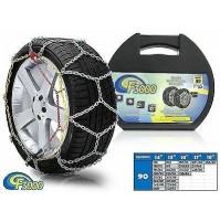 CATENE DA NEVE A ROMBO 9MM FOR FIAT 500 L PNEUMATICO 205/55R16 OMOLOGATE