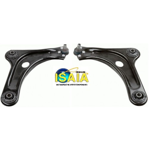 KIT 2 BRACCI ANT. FOR PEUGEOT 107 DEL 2005