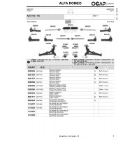 P59045 BREMBO KIT 4 PASTIGLIE FRENO ANT FOR OPEL MERIVA 1.7 DTI