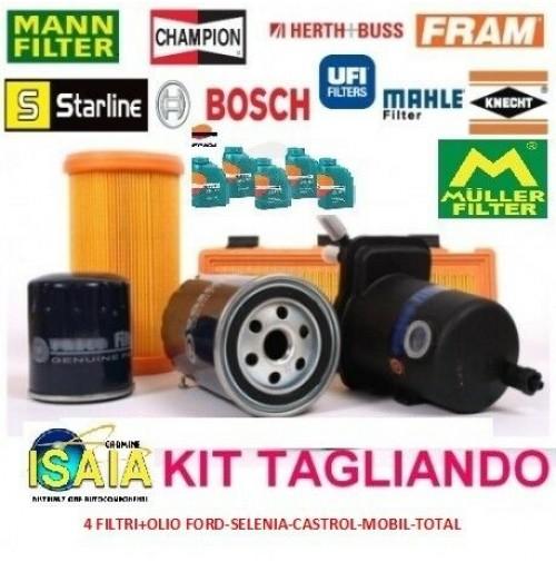 KIT TAGLIANDO 4 FILTRIOLIO CASTROL MAGNATEC 10W40 MERCEDES CLASSE A 160 W168