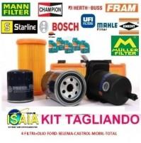KIT TAGLIANDO 4 FILTRIOLIO CASTROL MAGNATEC 10W40 MERCEDES CLASSE A 160 W176