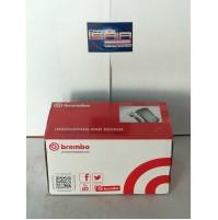 P56038 SERIE PASTIGLIE FRENO BREMBO ANT FOR NISSAN KUBISTAR FURGONATO (X80) 1.2