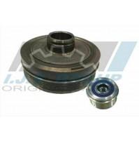 Set Pulley Crankshaft + Pulley Alternator For BMW 3 (F31) 316D-318D-320D
